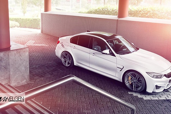Alpine White BMW M3 F80